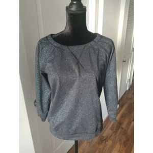 Marc by Marc Jacobs dark blue shimmer top …